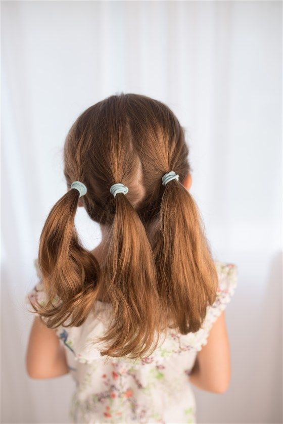 5 easy back-to school hairstyles for girls | Easy hairstyles for kids, Easy hairstyles, Girl ...