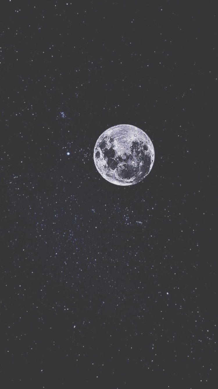 The Moon Iphone Wallpaper Moon Night Sky Wallpaper Aesthetic Wallpapers