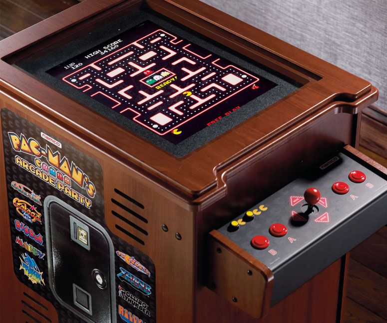 pac-man arcade cocktail cabinet | pac man, men cave and gaming