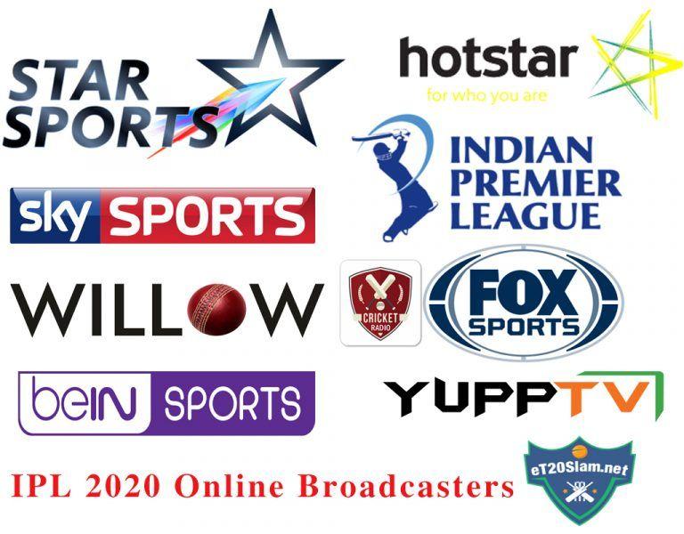 Ipl 2020 Online Broadcasters Live Streaming Tv Channels Streaming Tv Channels Star Sports Live Streaming Tv
