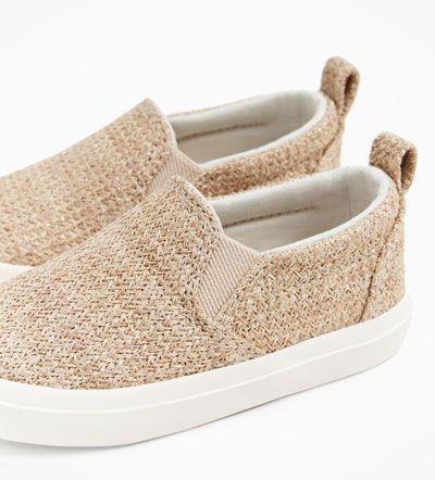 Zdjecie 2 Tekstylne Tenisowki Z Zara Plimsolls Zara Slip On Sneaker