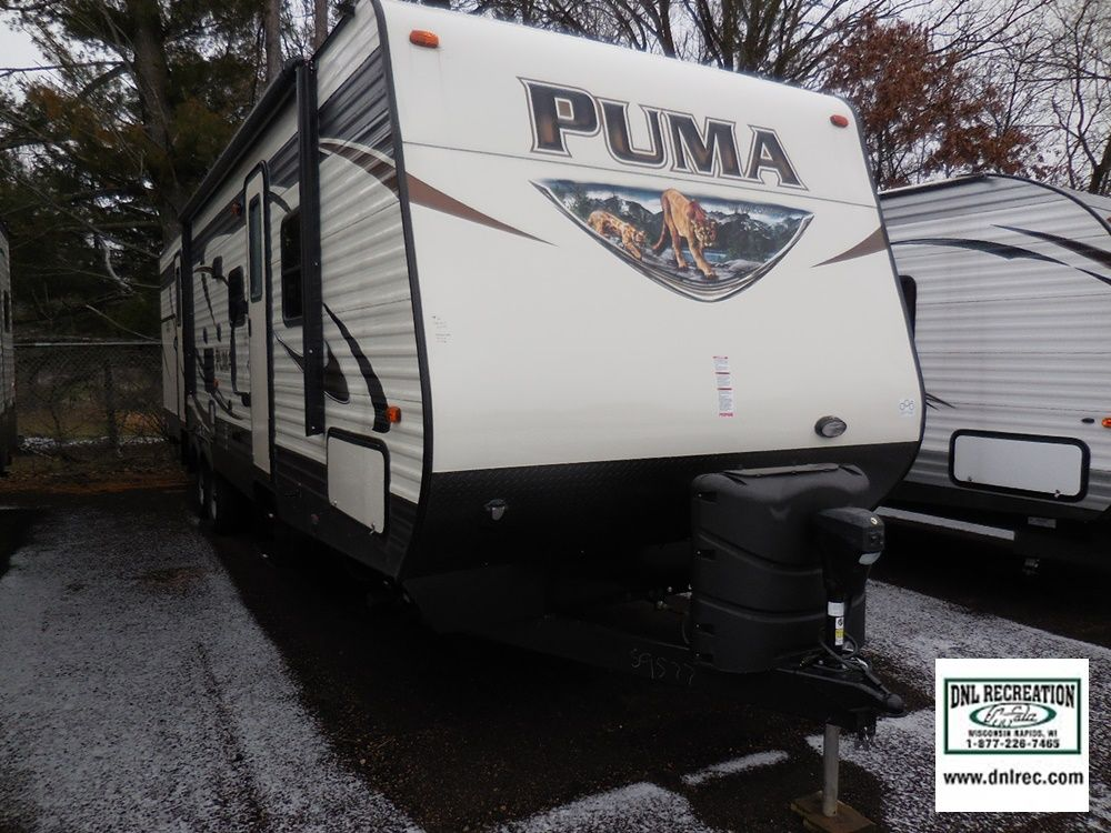 2016 Puma 31BHSS Available at DNL Recreation in Wisconsin