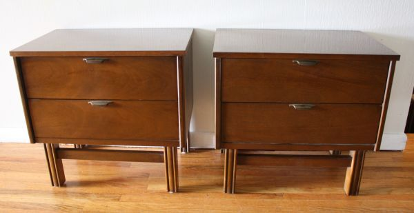 Philadelphia: Mid Century Modern Side End Table Sets of 2 - LANE $300 - http://furnishlyst.com/listings/900321