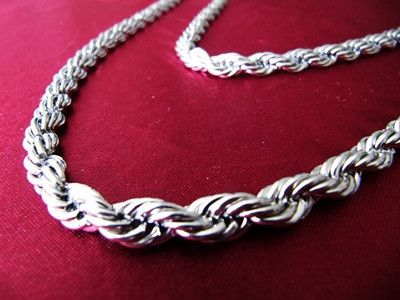 316l Stainless Steel Rope Chain Necklace 10mm Stainless Steel Chain Necklace Steel Necklace Stainless Steel Necklace
