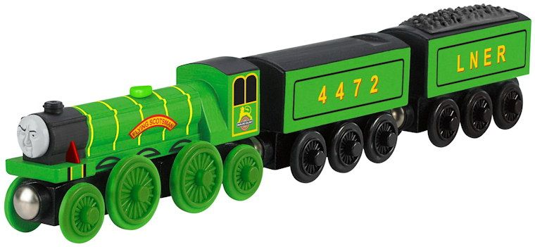 Flying Scotsman Fp Wooden Railway Y6784 Thomas And Friends