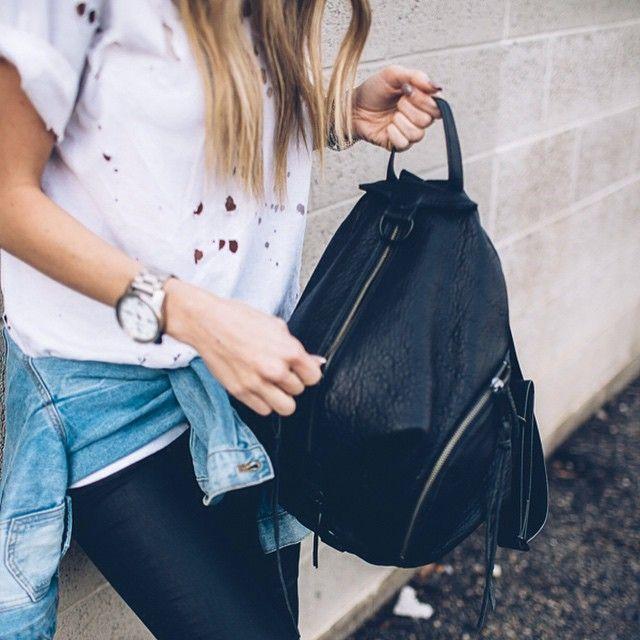 Rebecca Minkoff Julian Backpack Backpack Outfit e1642f68e956a