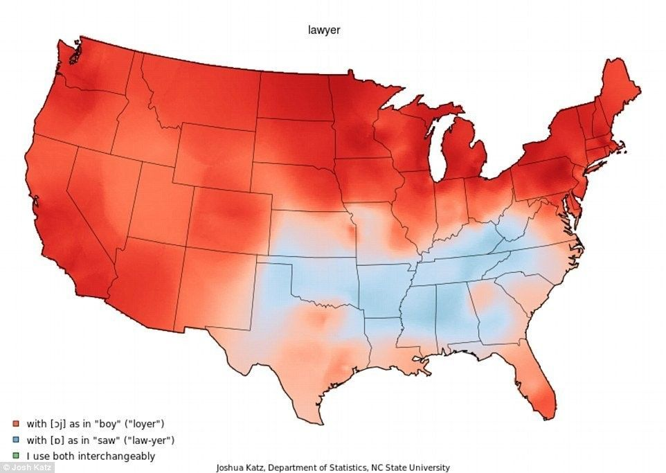 22 Maps That Show How Americans Speak