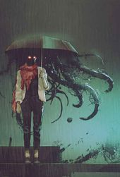 #balanced #Cleverly #Esoterica #occult #Power #Review #RPG #struggle Esoterica RPG - urban fantasy writing inspiration art character protagonist hero villain antagonist  profile prompt setting story beautiful inspiring gorgeous fantasy magic dark tentacles umbrella rain monster demon