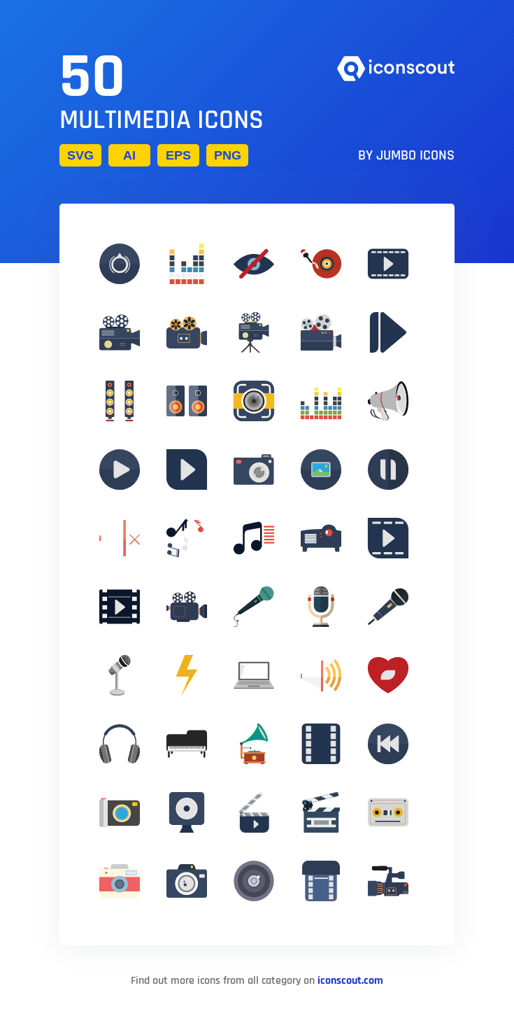Download Multimedia Icon Pack Available In Svg Png Eps Ai Icon Fonts Multimedia Icon Icon Pack