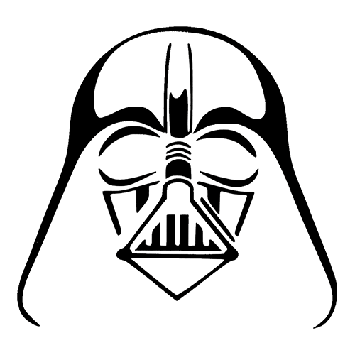 Gallery For gt Darth Vader Black And White Drawing