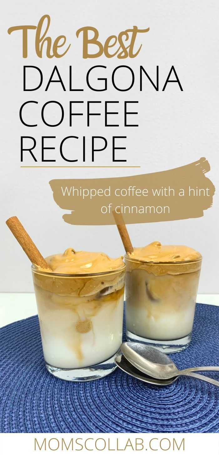 How to Make Best Dalgona Coffee Recipe with Instant Coffee and Whipped Coffee