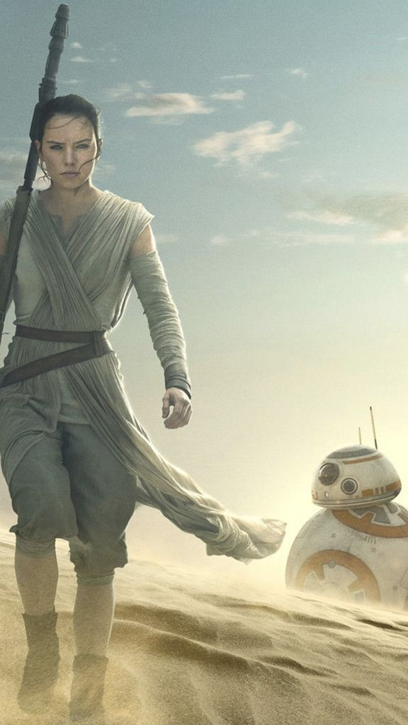 Star Wars The Force Awakens Iphone Wallpapers Star Wars Episode Vii Rey Star Wars Star Wars Vii