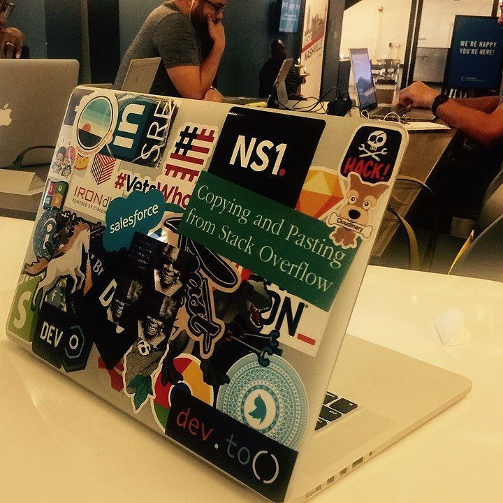 Is it possible to have too many stickers on your laptop startupyall