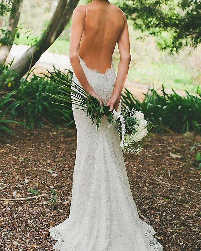 gorgeous backless gown