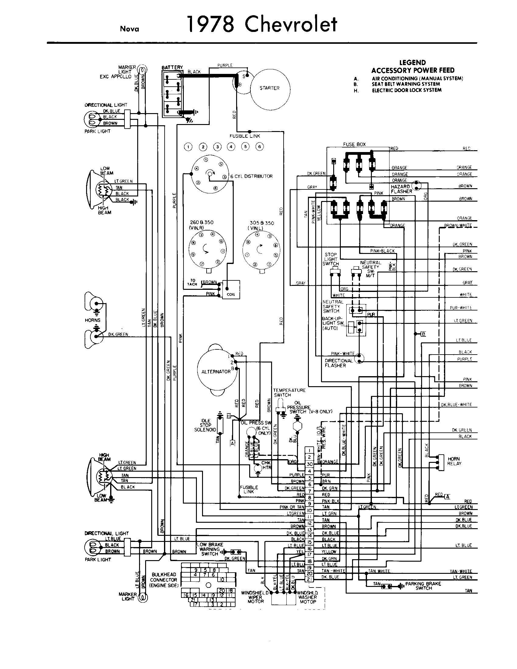 1978 Chevy Wiring Diagram - Wire Management & Wiring Diagram g body wiring diagram jimmychoopumps.co