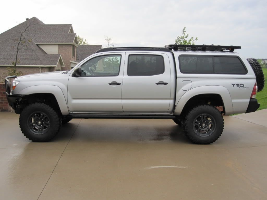 Toyota Tacoma Topper >> Baja Rack On A Leer Cap Expedition Portal Tacoma Truck