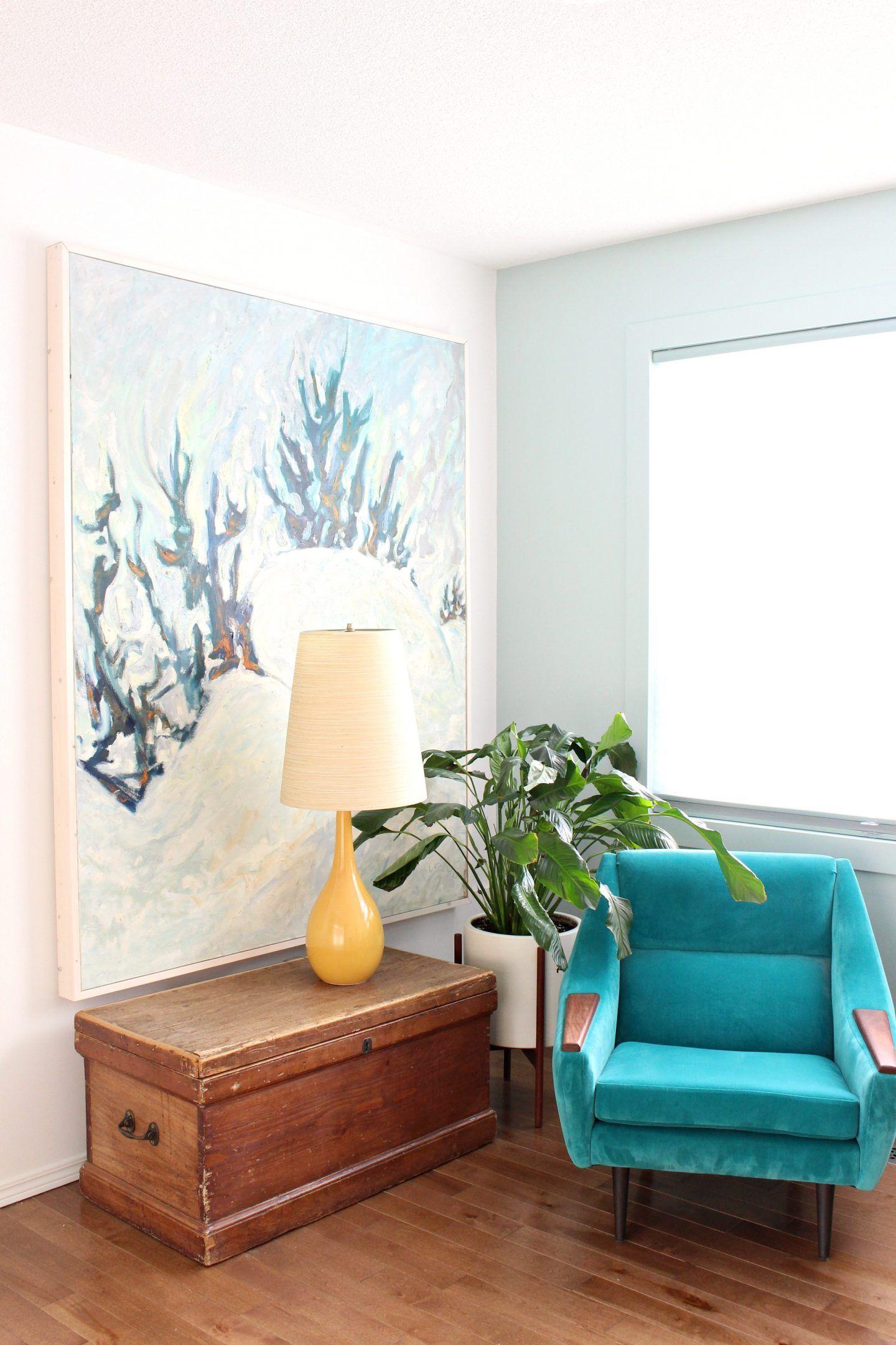 Easy diy canvas frame dans le lakehouse diy canvas