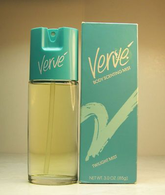 Verve- aaaahhhh, forgot about this perfume, but I LOVED it!! This one and the purple one! Wish I could smell them again!