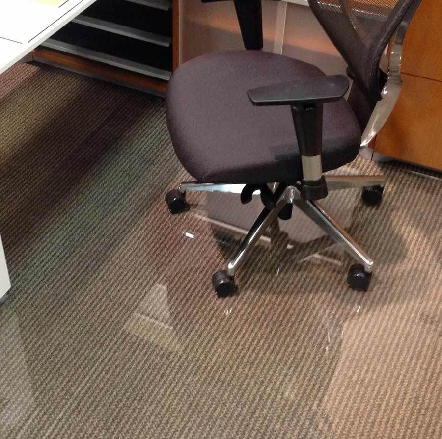 Glass Office Chair Mats Never Dent Mats By Vitrazza Office
