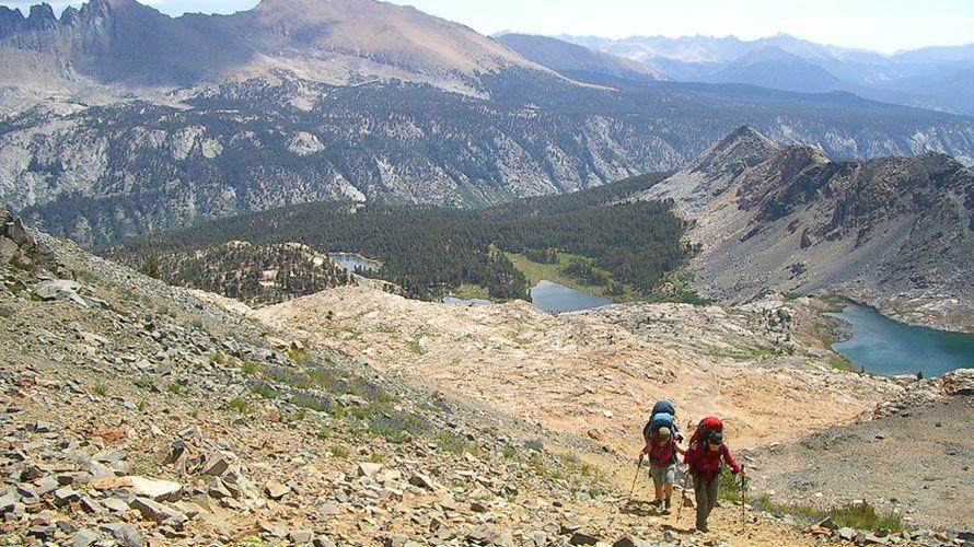 Sawtooth Pass Loop Backpacking Trip Kings canyon