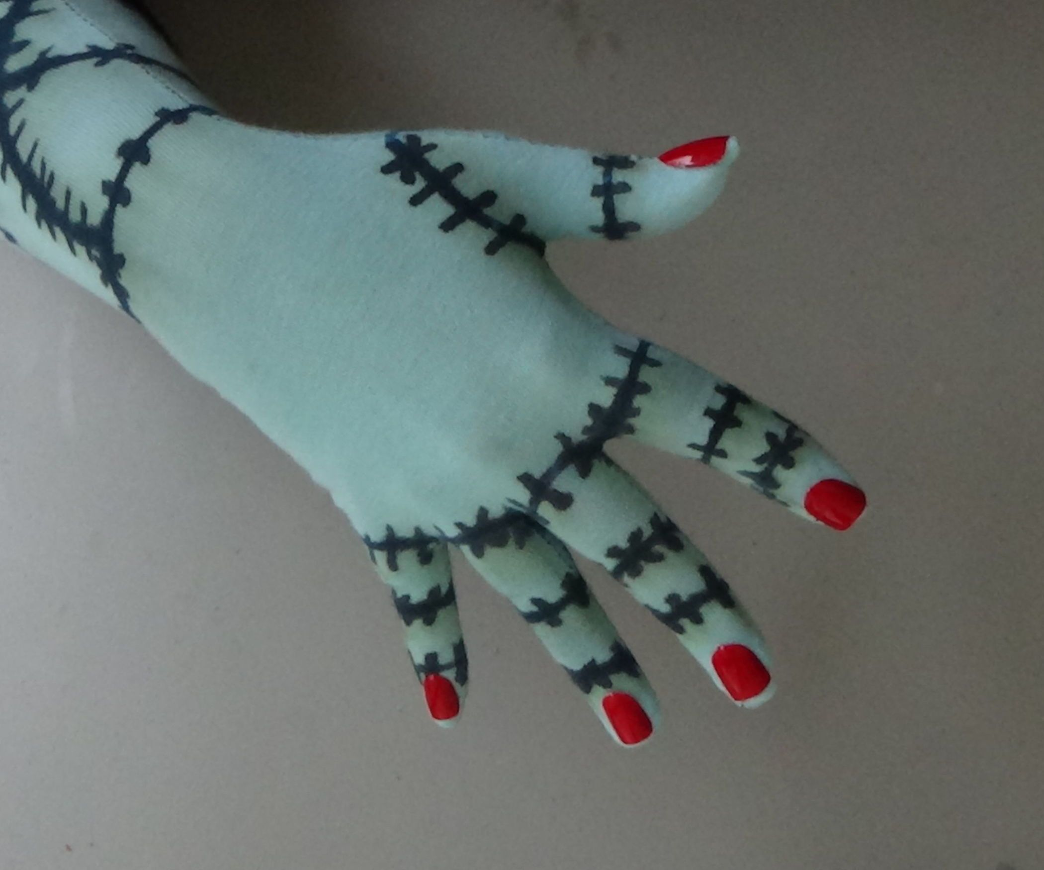 Sally rag doll gloves sally costumes and halloween costumes diy costumes solutioingenieria Gallery