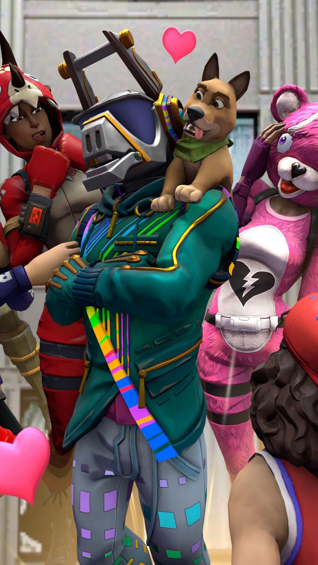 Downaload Characters Fun Party Video Game 2018 Fortnite