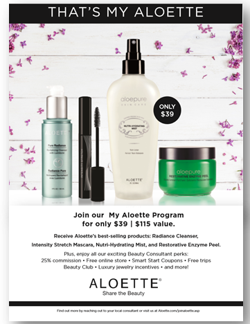 0cb1167f28f My Aloette, my way. This Beauty Consultant Starter Kit features our ...