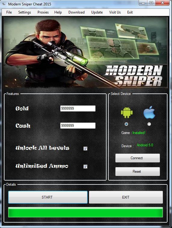 Modern Sniper Cheat Hack Free Download Apk Android Ios