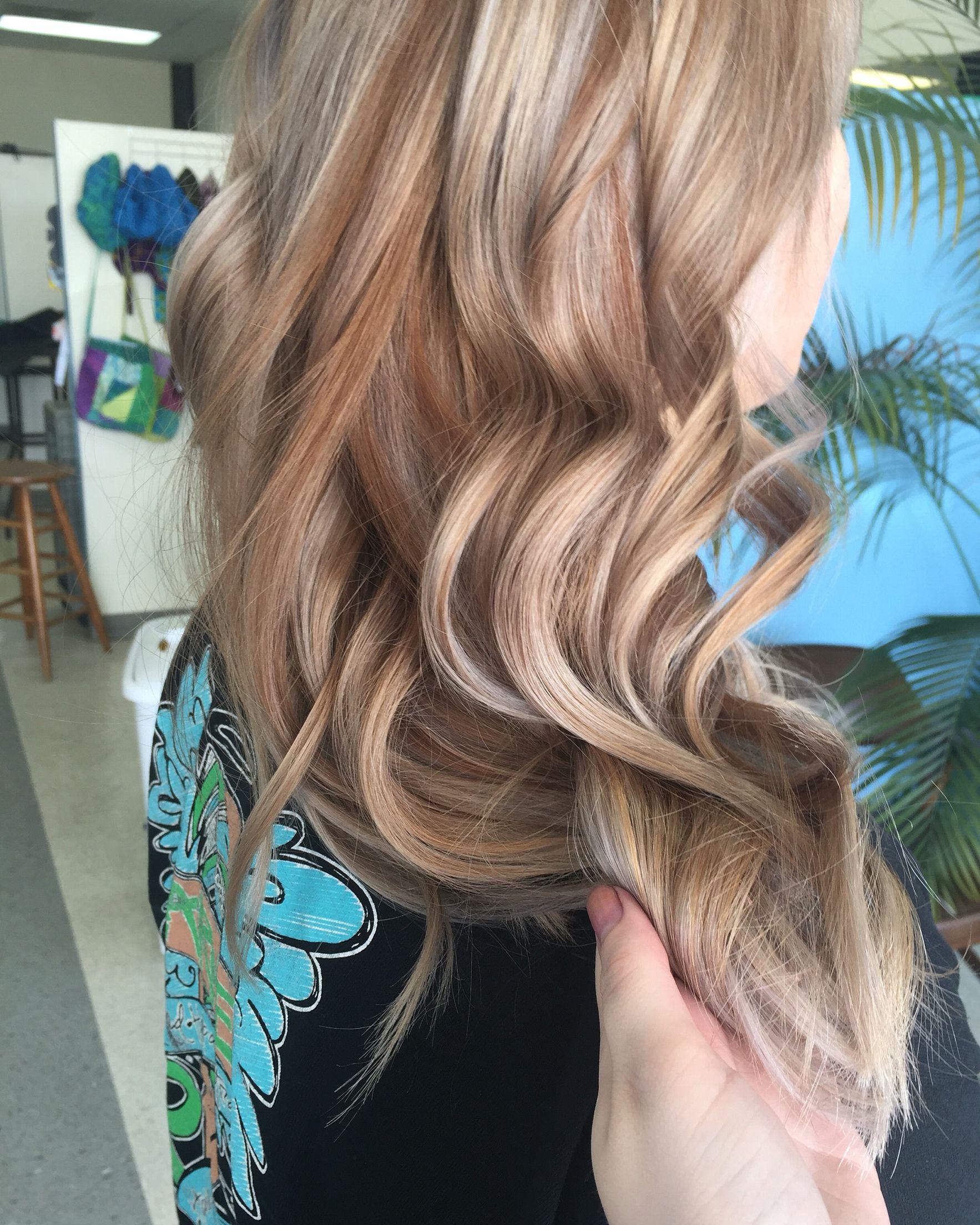 Rust metallic hair