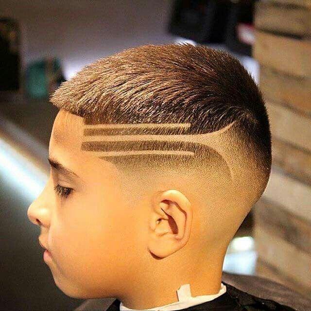 Rayas en los cortes de cabello