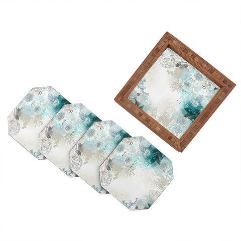 DENY Designs Home Accessories | Iveta Abolina Seafoam Coaster Set
