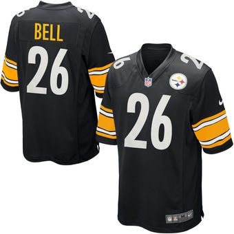 Nike Le'Veon Bell Pittsburgh Steelers Black Football Jersey #steelers #nfl #pittsburgh
