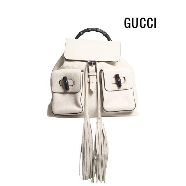 #NewIn! 💥 Mochila #Gucci Bamboo novinha 40% mais barata do que na loja!! 😱😱😱…