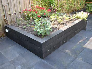 Afbeeldingsresultaat voor tuin met stenen bakken tuin pinterest stenen bakken en tuin for Tuin decoratie met stenen