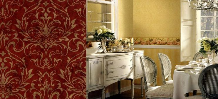 Galerie Memories Red and Gold - CC4436 Pattern