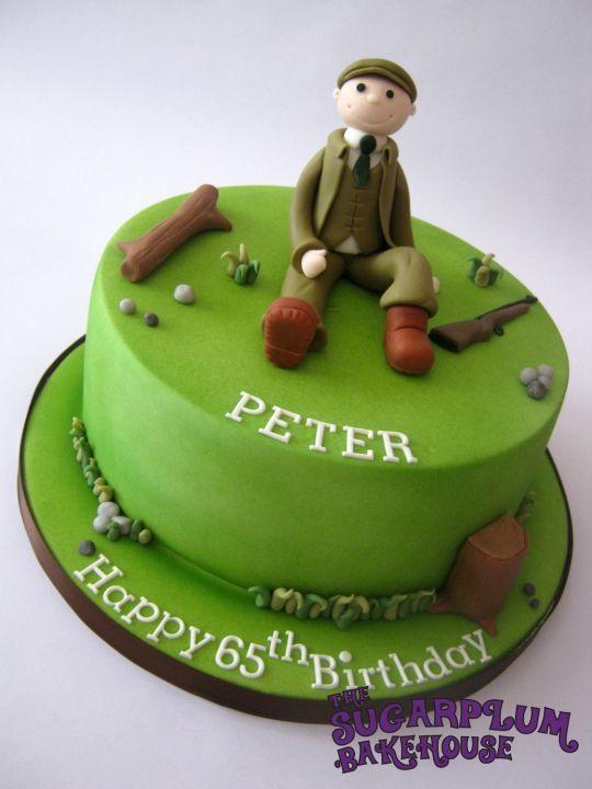 Strange Shooting Themed Birthday Cake Hunting Cake Themed Birthday Cakes Funny Birthday Cards Online Necthendildamsfinfo