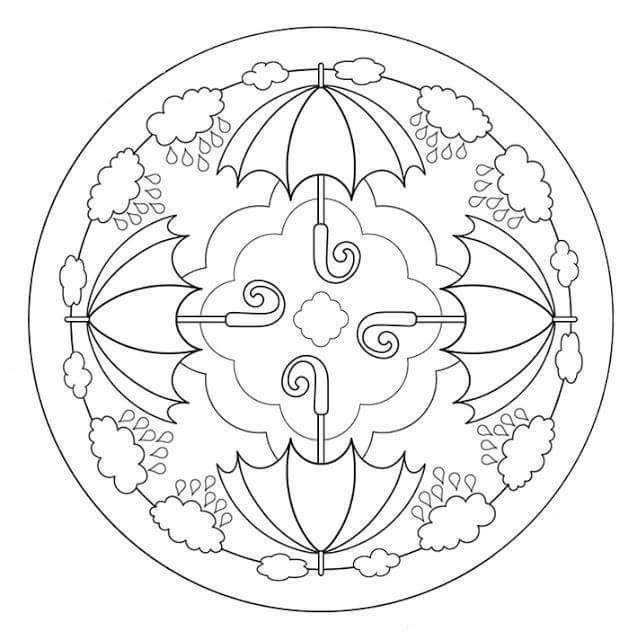 Atemberaubend Coloriage Superbases Mandalas Mit Blumen Bilder ...