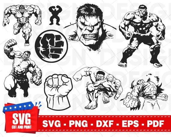 avengers Svg  Png  Dxf  Pdf  Eps. hulk svg the hulk svg