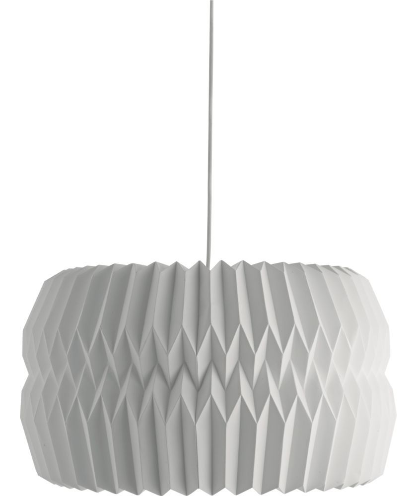 buy habitat kura extra large white paper ceiling light shade at