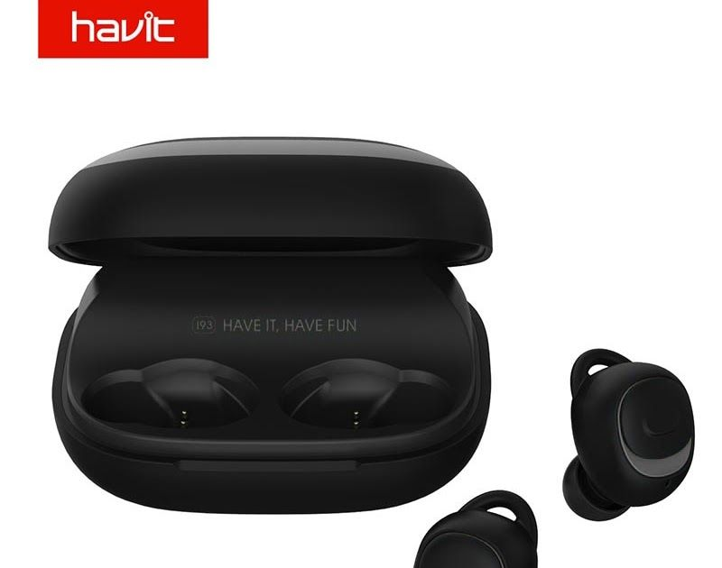 c5d886a65d2 Big SALE HAVIT Bluetooth Earphone V5.0 TWS Mini Wireless Earbuds In-ear  Sport