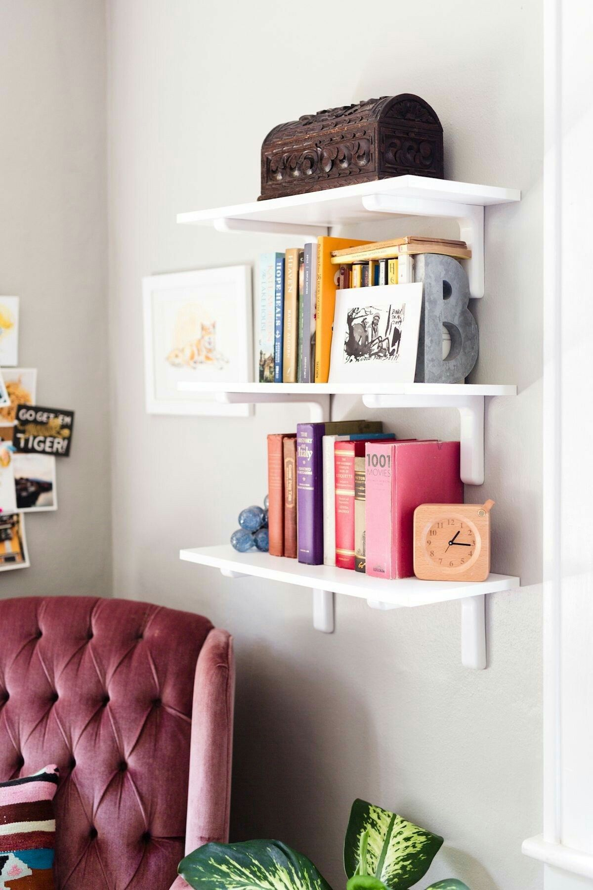 Home office bookshelf // interior design inspiration // dream ...