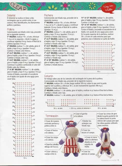 Patrón Halley hipopotamo Dra juguetes | amigurmis | Pinterest ...