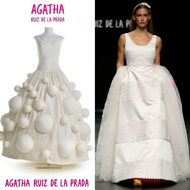 Agatha Ruiz de la Prada | Vestidos de novia / Wedding gowns ...