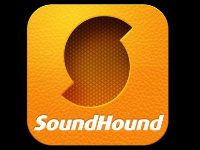 PHOTO SOUNDHOUND IPHONE APP MUSIC LOGO