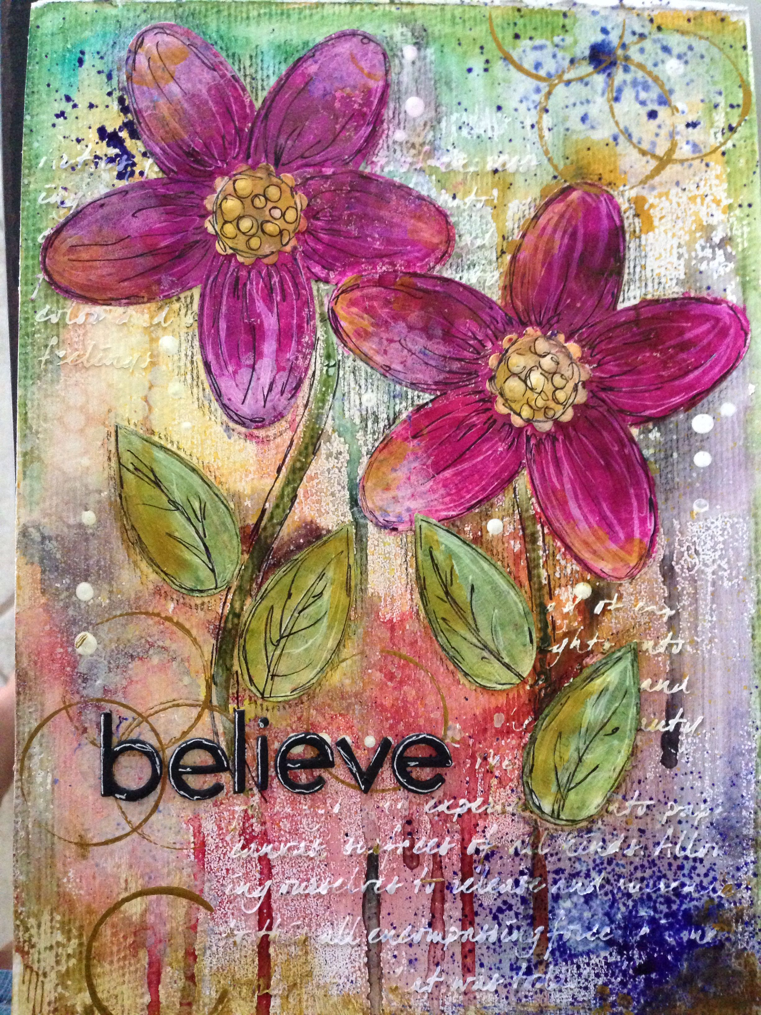 Mixed media art journal #artjournalmixedmediainspiration