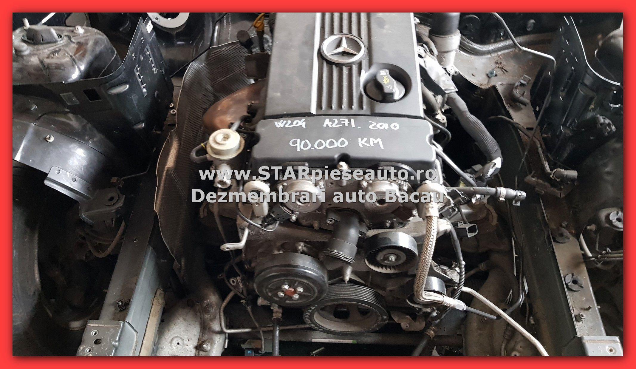 Motor Mercedes C180 Kompressor W204 Tip Motor A 271 952 Cu 90 000 De Km Starpieseauto Dezmembrari Bacau Va Ofera Piese Auto Originale Din Dez Auto Motor Romani
