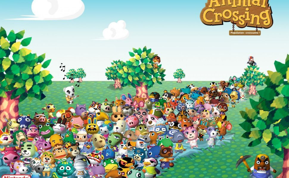 Animal Crossing HD Wallpaper Animal crossing, Animal