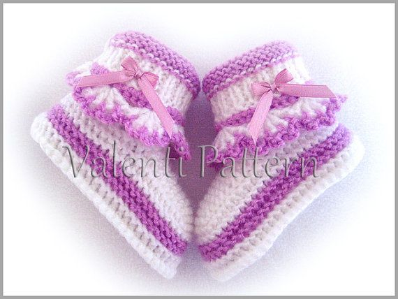 Baby Booties Pattern Baby Booties Knitting Pattern Baby Baby