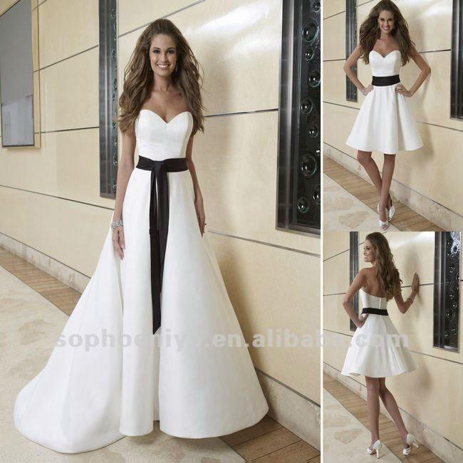 Black and White Bridesmaid Dresses Under 100 | ... novia línea de ...