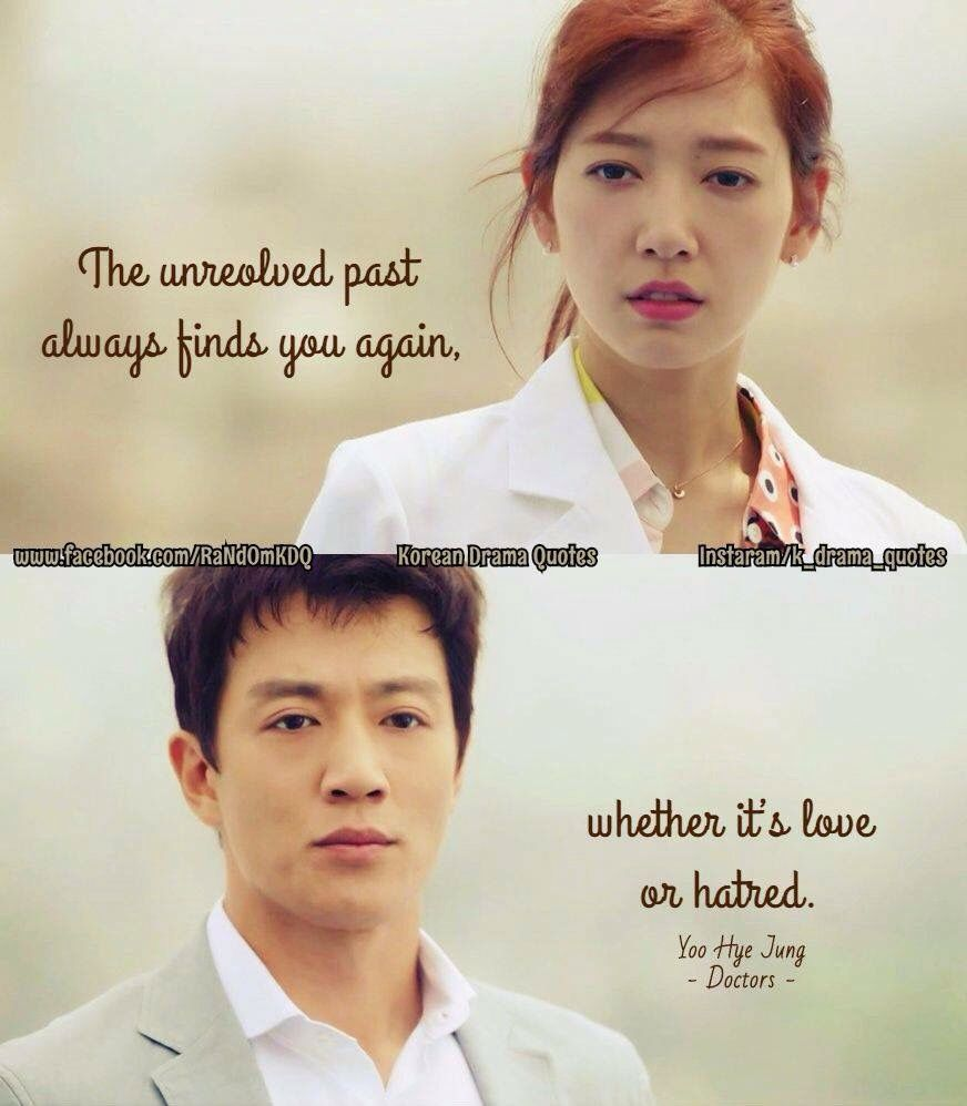 Romantic Doctor Who Quotes: Doctors: Kim Rae Won And Park Shin Hye